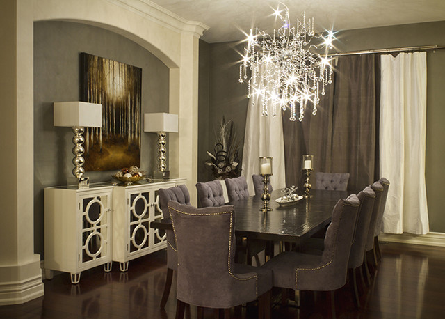 Elegant Dining Room - Modern - Dining Room - Toronto - by Beyond .