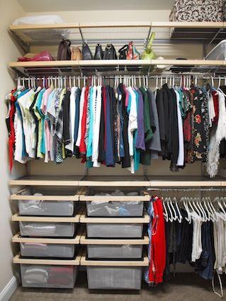 PA Home | Elfa closet, Bedroom organization closet, Closet clothes .