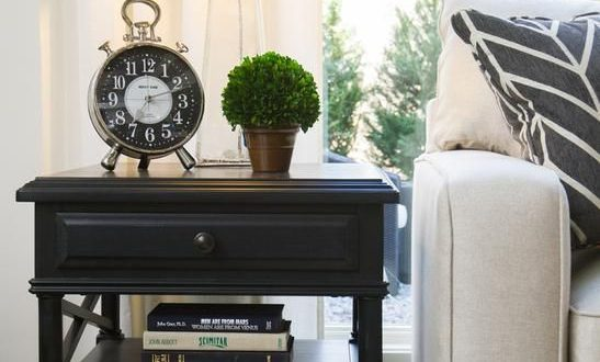 As seen on HGTV's Elbow Room. | Living room side table, Living .