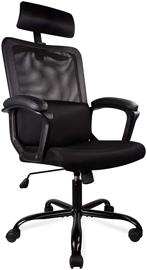 Amazon.com : Ergonomic Office Chair High Back Office Chair Mesh .