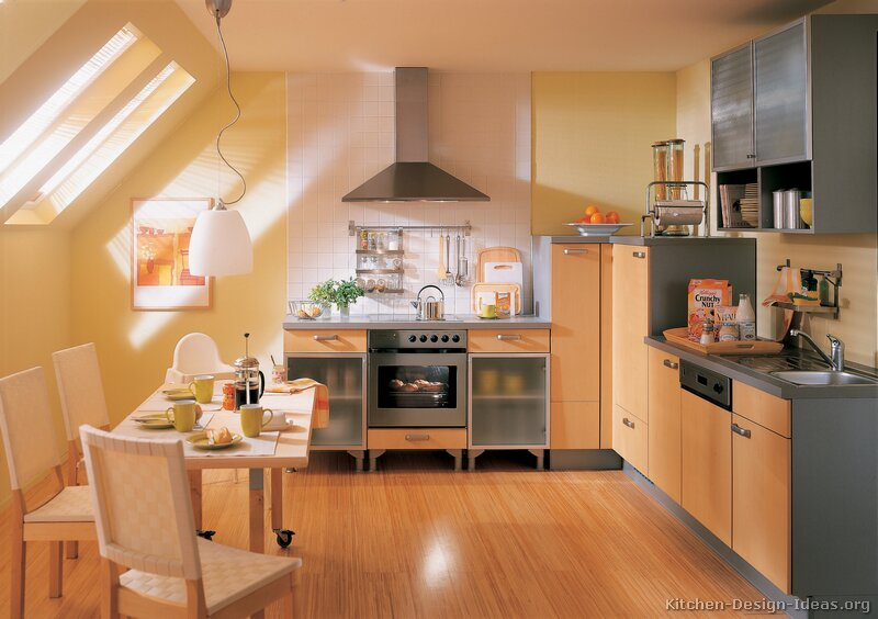 European Kitchen Cabinets - Pictures and Design Ide