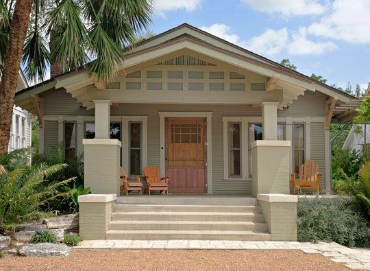 10 Inspiring Exterior House Paint Color Ideas | Bungalow exterior .