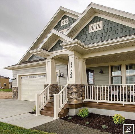 Craftsman … | House paint exterior, Exterior house colors, House .