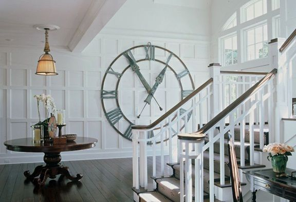 Oh very nice extra large vintage clock - Google Search | Big wall .