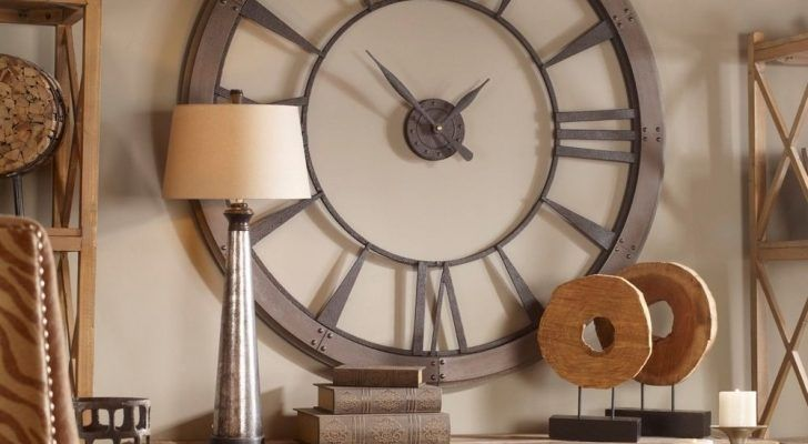 Top Photo of Extra Large Oversized Decorative Wall Clocks For Sale .
