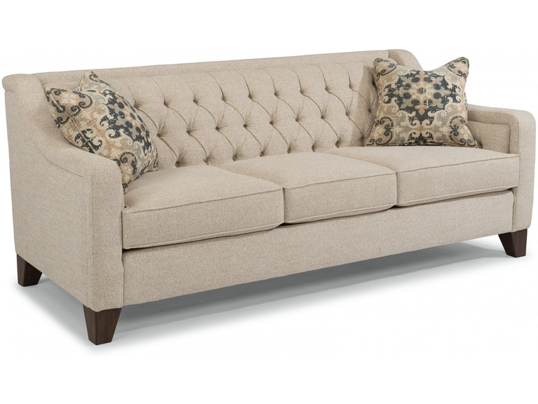 Flexsteel Living Room Fabric Sofa 7103-31 - Carol House Furniture .