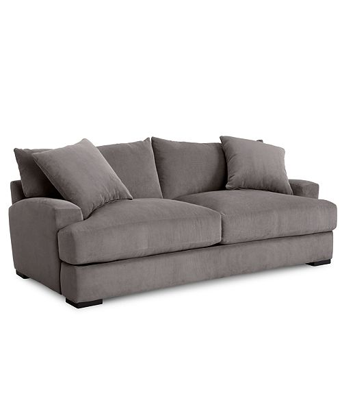 Furniture Rhyder 88'' Fabric Sofa, Created for Macy's & Reviews .