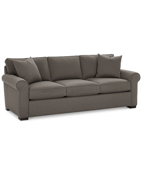 "Furniture CLOSEOUT! Astra 91"" Fabric Sofa, Created for Macy's ."