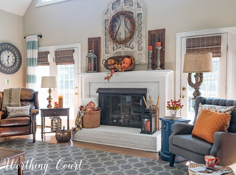 Get Inspired By My Easy Fall Decorating | Worthing Cou