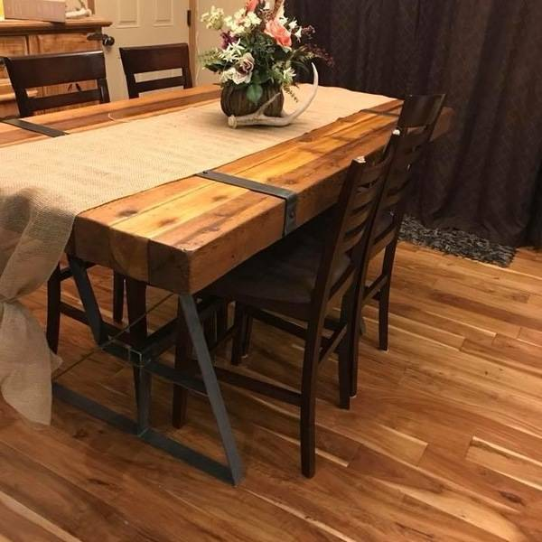 Industrial farmhouse table - RYOBI Nation Projec