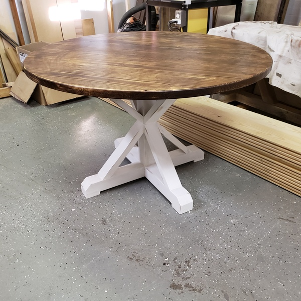 Circle Farmhouse Table - RYOBI Nation Projec