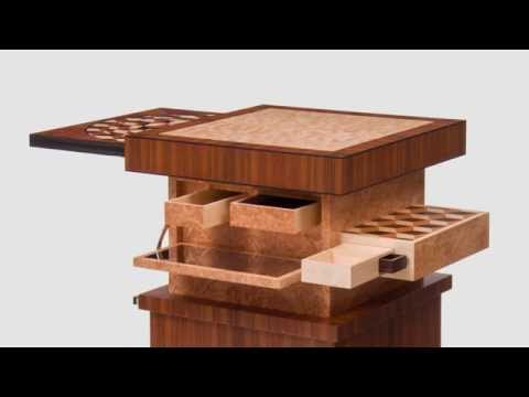 Craig Thibodeau - CT Fine Furniture - Automaton Table - YouTu