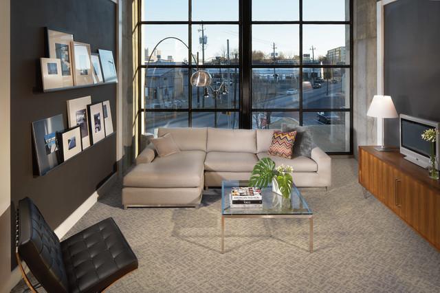 Modern Carpet | Karastan | Coles Fine Flooring - Modern - Living .