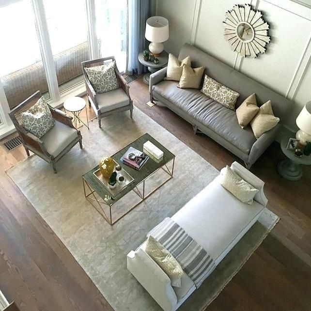 Fine Design Rectangular Living Room ... | Rectangular living rooms .