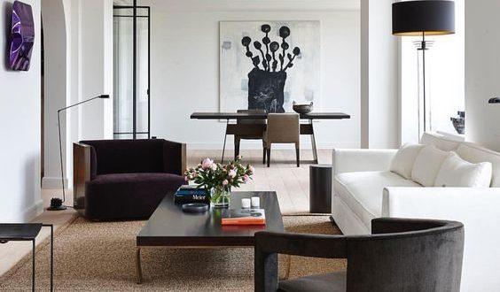 urbnite | contemporary furniture | modern living space | blue and .