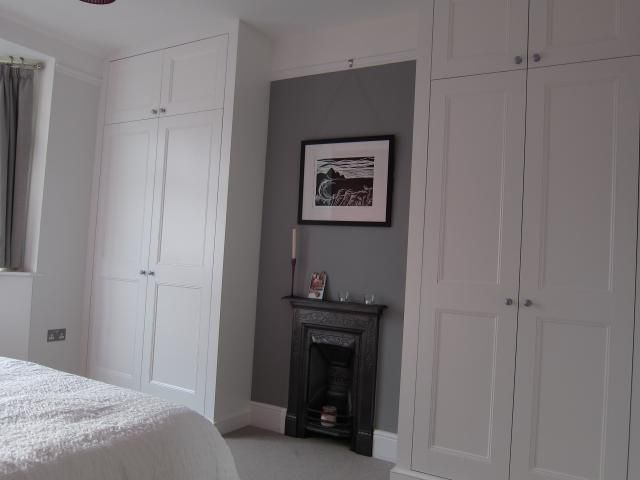 fitted wardrobes James Carpentry UK,Wandsworth | Bedroom alcove .