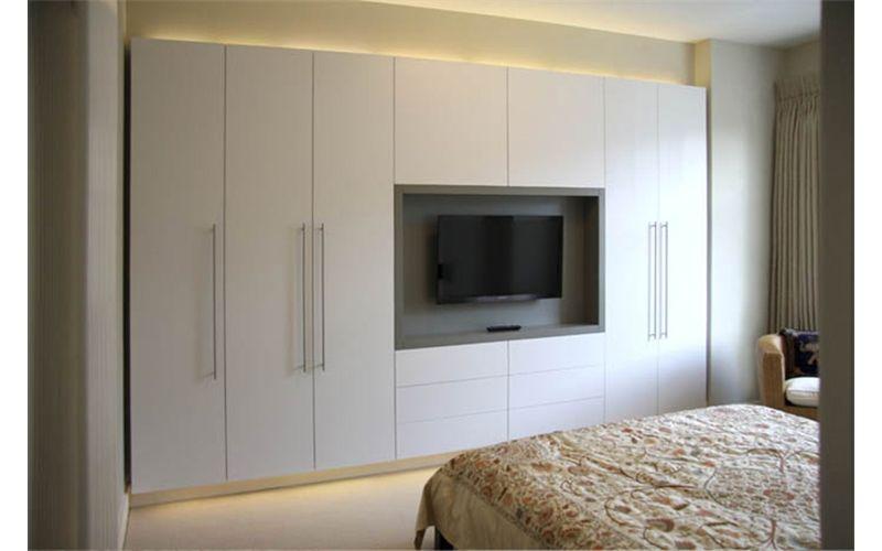 paintedbedroom.jpg 800×500 pixels | Fitted wardrobes bedroom, Tv .