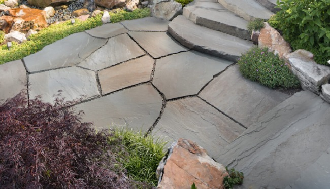 Flagstone Pavers - Best Natural Stone for Your Backyard Patio Desi