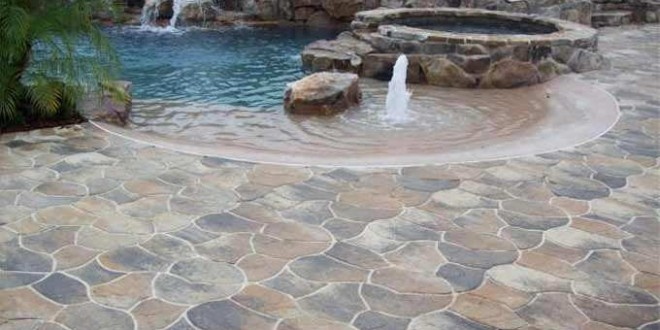 Installing The Flagstone Pavers - Garden Ideas & Outdoor Dec