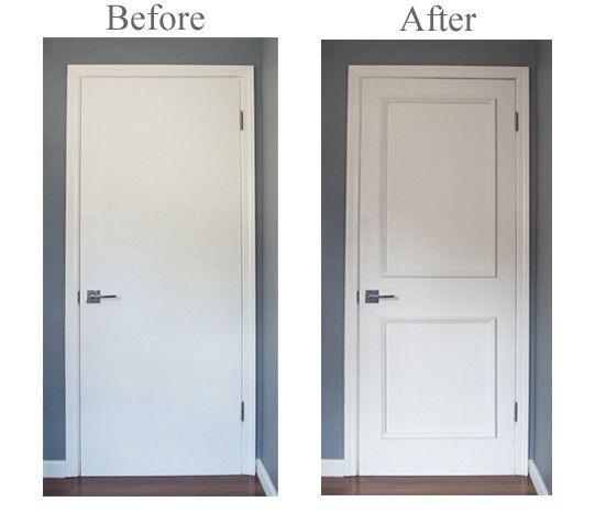 Transform flat panel interior, exterior and metal doors quickly .
