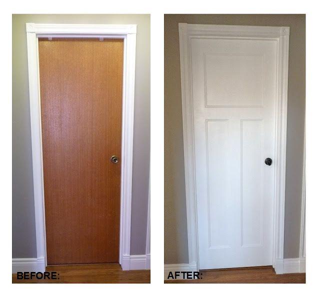 How To Replace Interior Doors | Diy home improvement, Home renovati