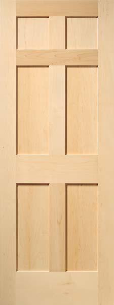 Interior Flat Panel Doors | Mission Style Doors | Interior Wood Doo