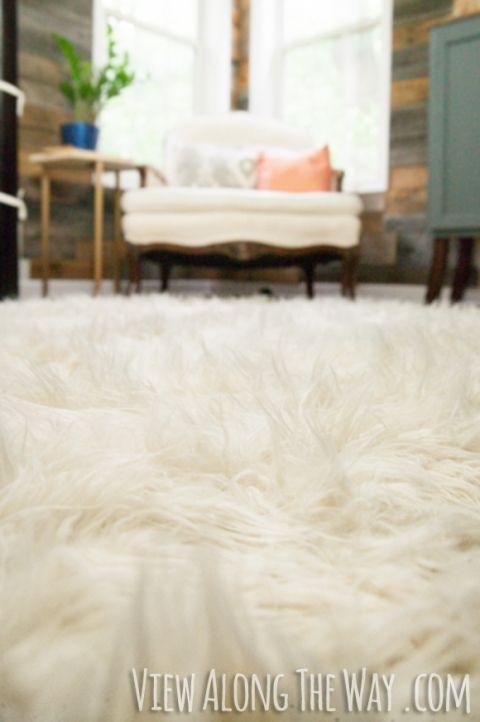 DIY flokati rug tutorial! This is brilliant! | Diy rug, Diy rug .