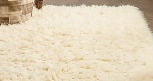 White Flokati Rug | Crate and Barr