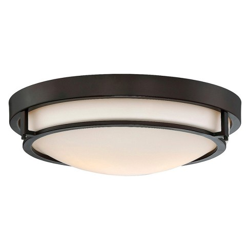 Ceiling Lights Flush Mount Oil Rubbed Bronze - Aurora Lighting .
