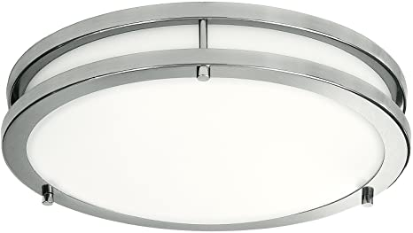 LB72119 LED Flush Mount Ceiling Light, 12 inch, 15W (150W .