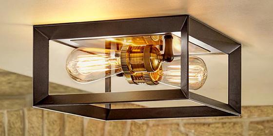 Flush Mount Lighting & Semi-Flush Mount Lighti