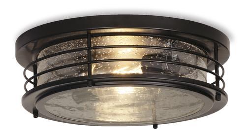 Patriot Lighting® Hale Black Flush Mount Ceiling Light at Menards