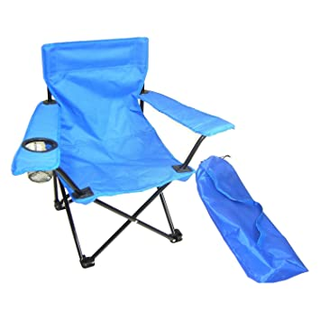 Amazon.com: Redmon for Kids Kids Folding Camp Chair, Blue: Ba