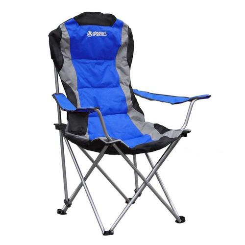 Gigatent Blue Steel Folding Camping Chair at Lowes.c