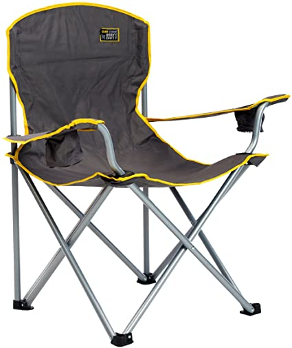 Amazon.com : Quik Chair Heavy Duty Folding Camp Chair, Extra Large .
