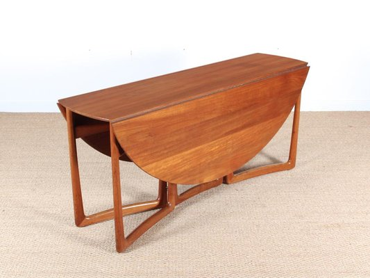 Mid-Century Modern Teak 20/59 Folding Dining Table by Hvidt and .