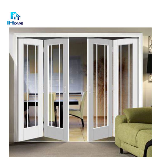 Chinese Factory Custom Madealuminum Bifold Doors Folding Door .