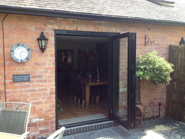 Replacing Patio Doors | Folding doors exterior, Bifold exterior .