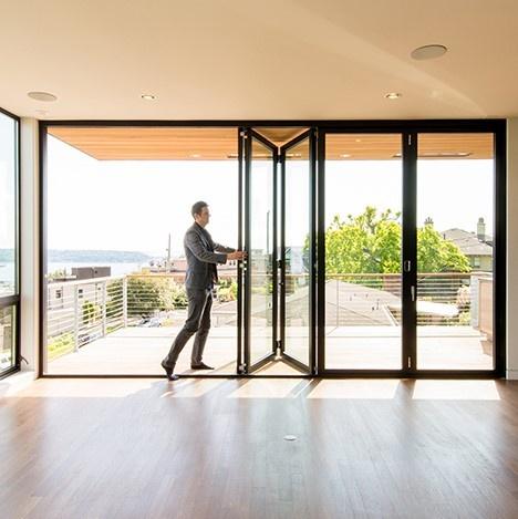 Aluminum Folding Door - Southwest Building Produc
