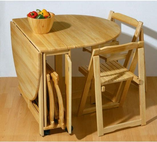 The small home and folding dining chairs | Small kitchen tables .