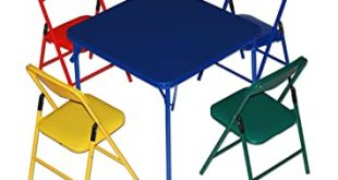 Amazon.com: Children's Folding Table & Folding Chairs Furniture .