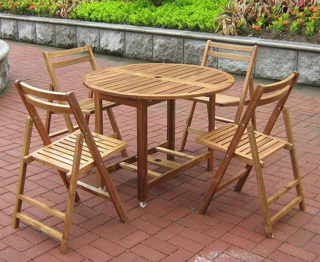 Folding Dining Table Set - MPG-TBS