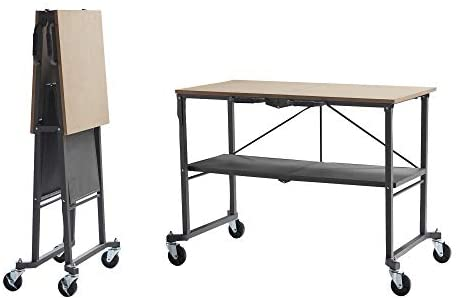 Amazon.com: COSCO 66721DKG1E Folding Workbench and Table, Dark .