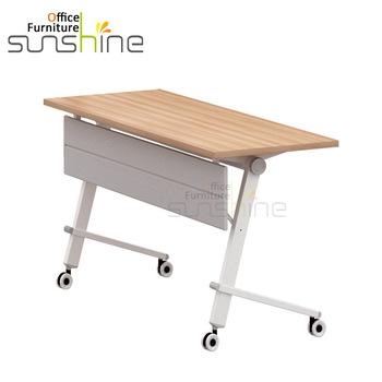 Custom Folding Table With Lockable Wheel - Buy Folding Table .