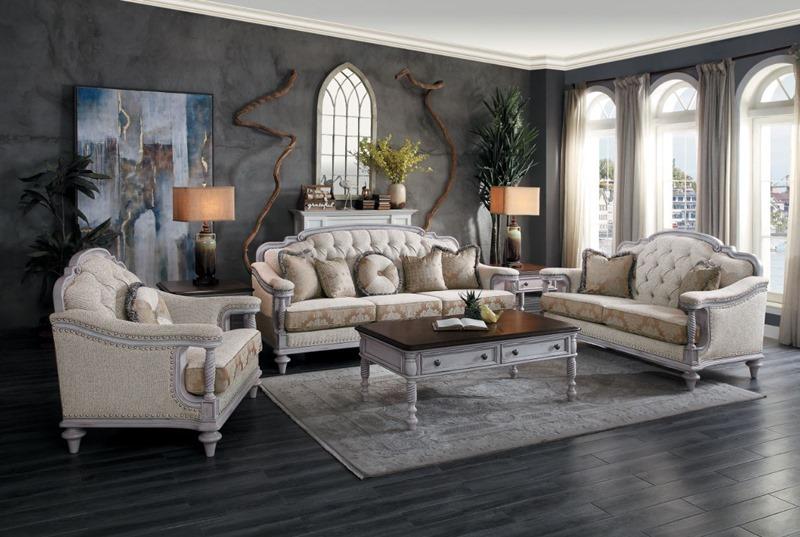 Homelegance | 16139 Amancio Formal Living Room Set | Dallas .