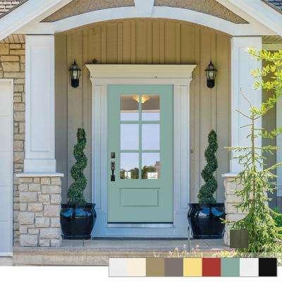 Red - Right-Hand/Inswing - Fiberglass Doors - Front Doors - The .