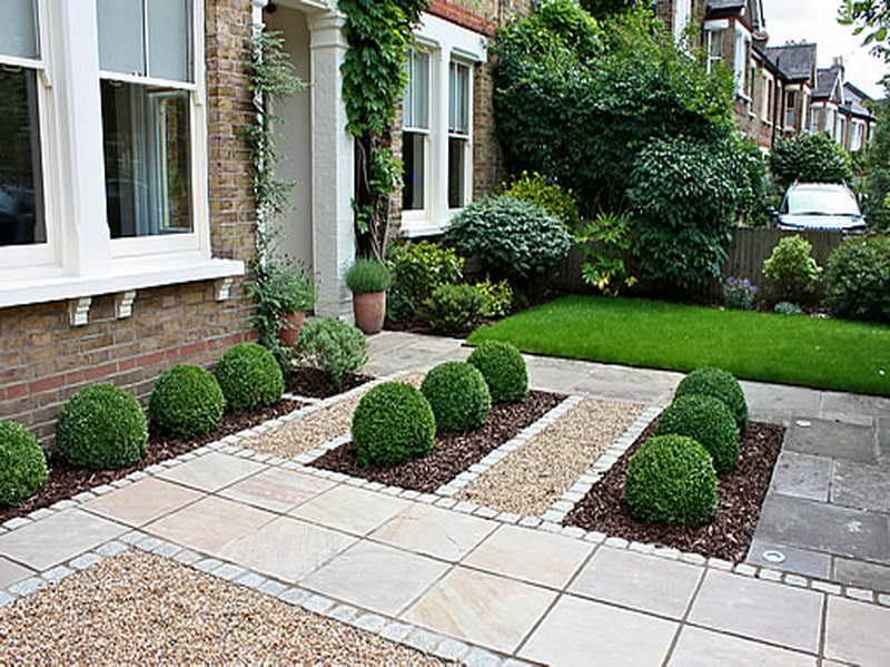 GabiLio Home and Garden: Simple front garden landscaping id