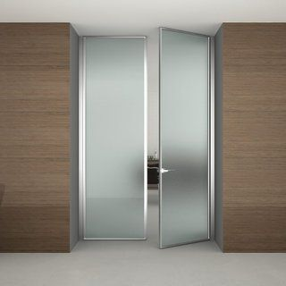 Modern Door With Frosted Glass - peytonmeyer.net | Glass office .