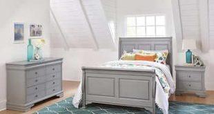 Fontaine Full Bed, Dresser & 1 Night Sta