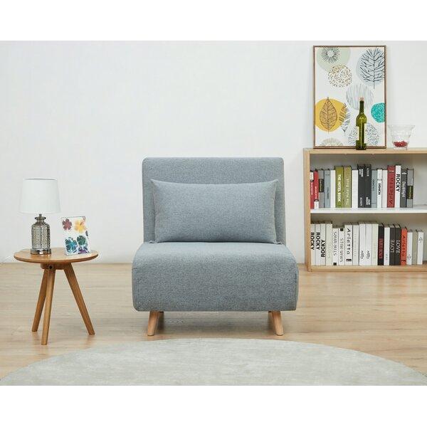 "Latitude Run Tannis Twin 30.31"" Pillow Back Futon Chair & Reviews ."